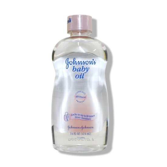 Whether you're smoothing it across your new bundle of joy after his bath or rubbing it on your dry spots, Johnson & Johnson's Baby Oil ($2) is a multiuse product you'll reach for well into your adult years.