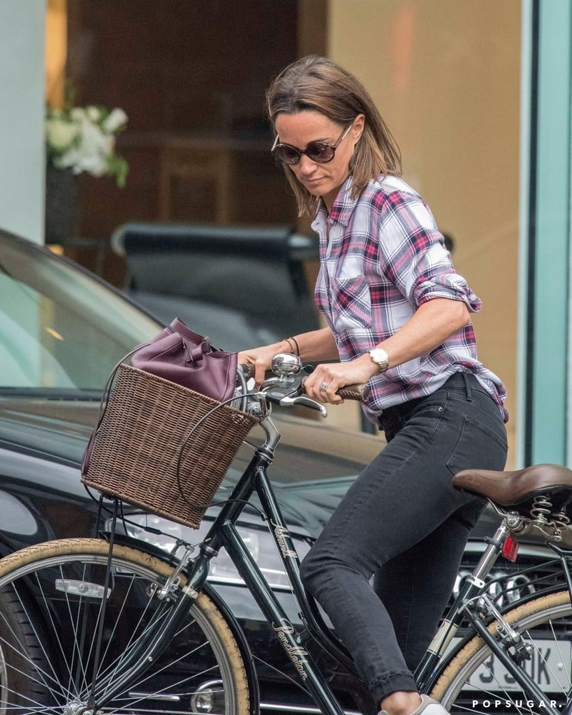 The Shiny Gold Detail You May Have Missed on Pippa Middleton's White Sneakers