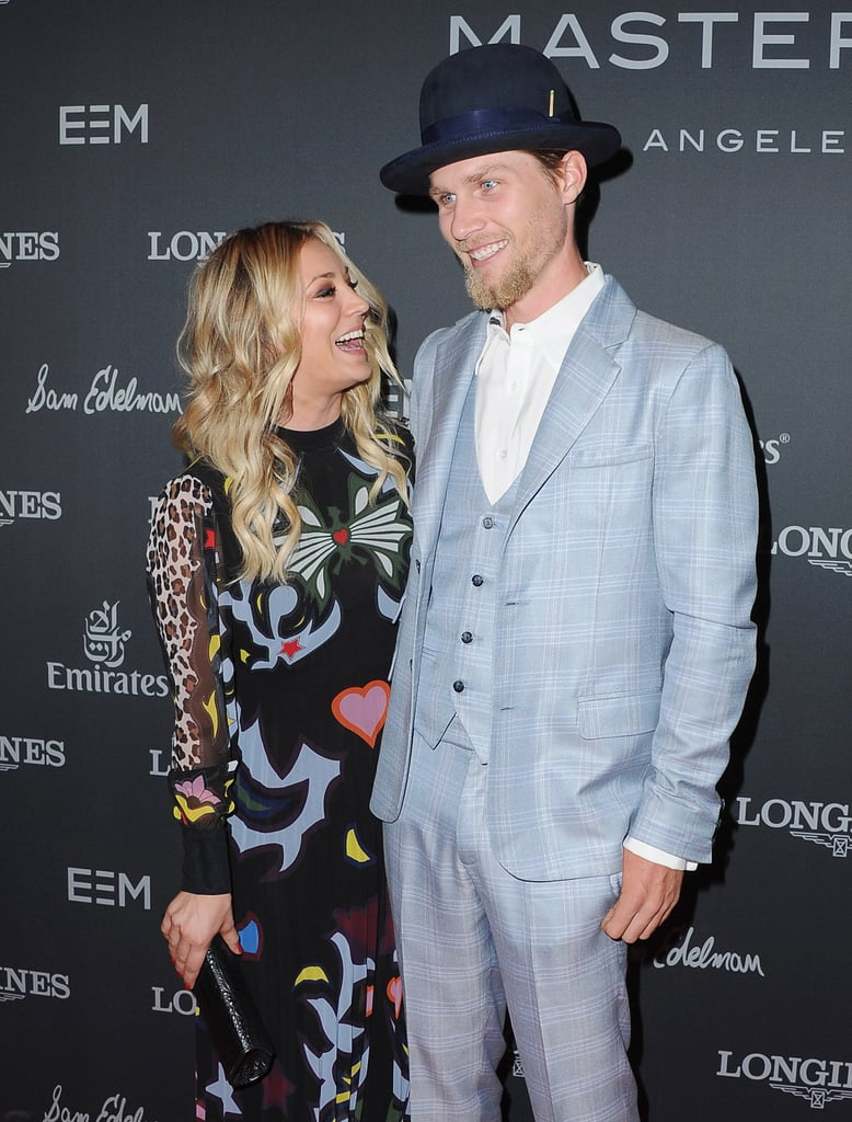 Kaley Cuoco and Karl Cook on the Red Carpet September 2016