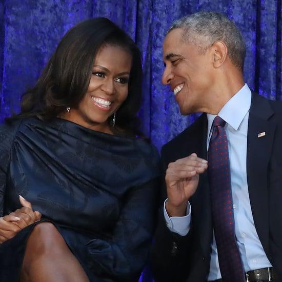 Michelle Obama Used Knitting Skills to Make Barack a Sweater