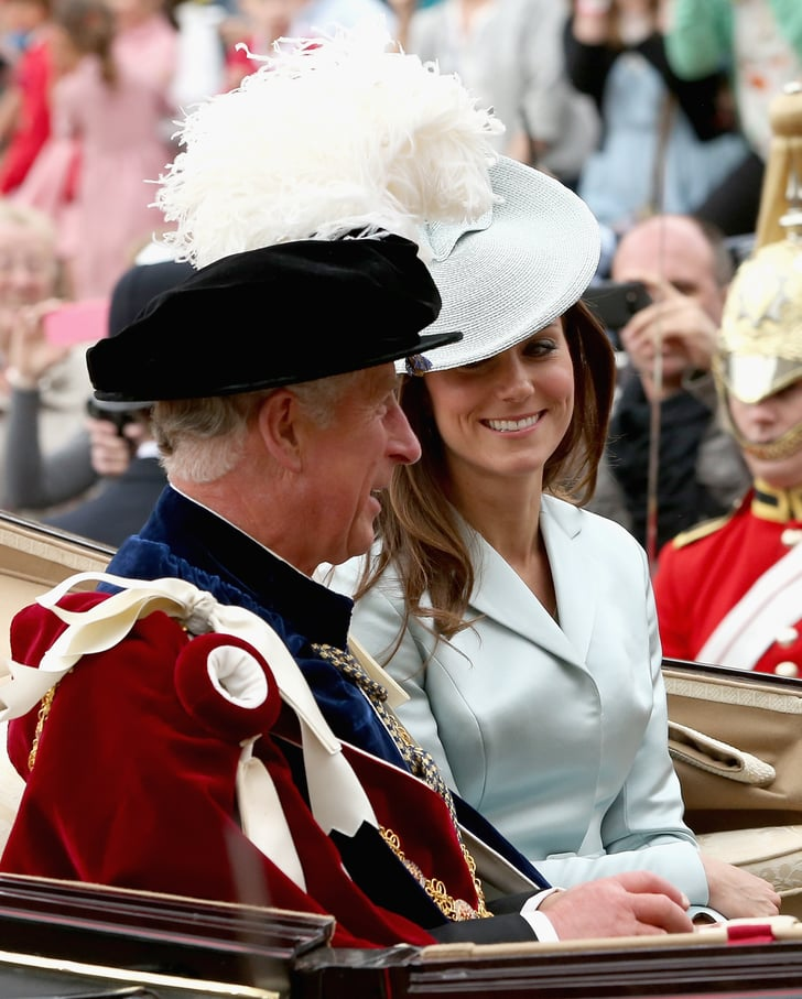 Kate Middleton at the Order of the Garter Service 2014 ...