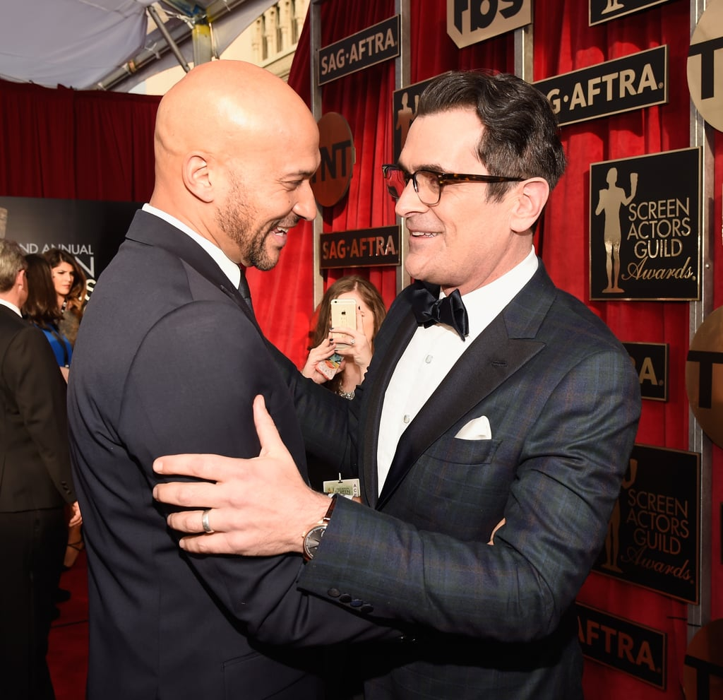 Pictured: Keegan Michael Key and Ty Burrell