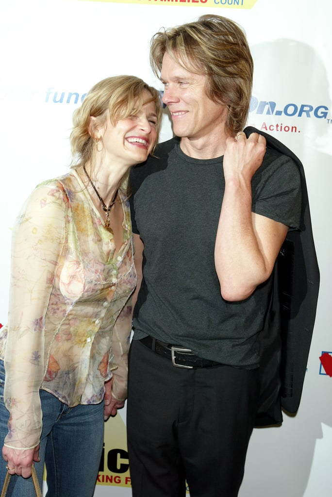 The two laughed at an inside joke during an NYC fundraiser in May 2004.