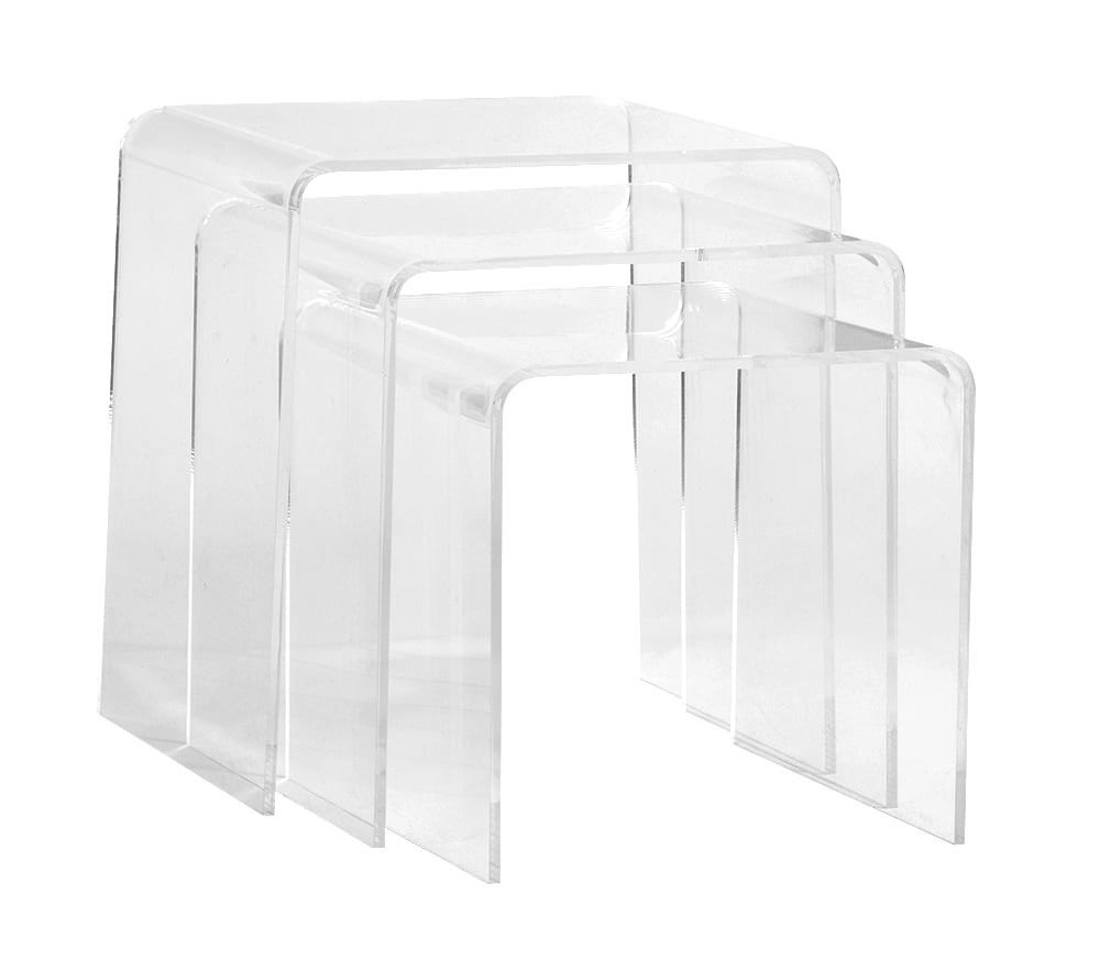 Acrylic Nesting Tables 16 Gorgeous Pieces From Pottery
