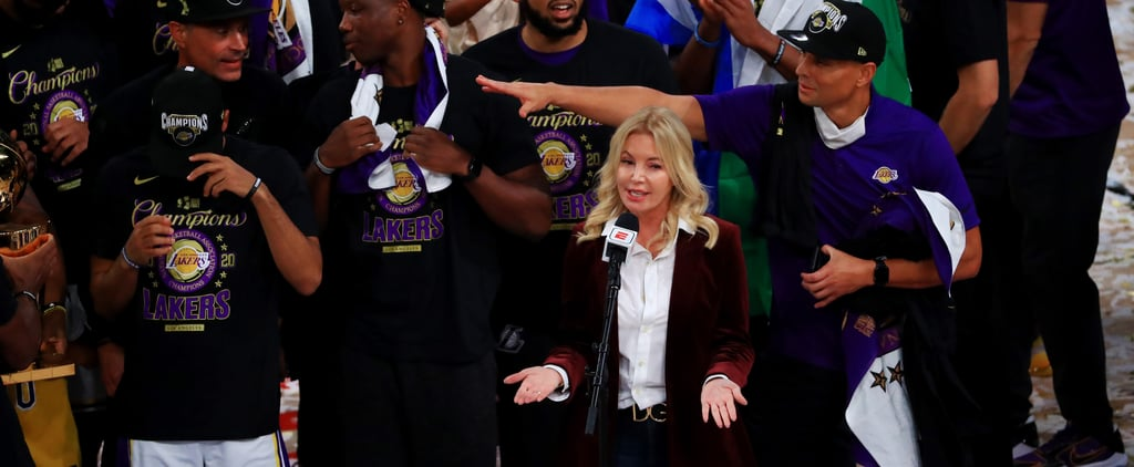 Jeanie Buss Is the First Woman Owner to Win NBA Championship