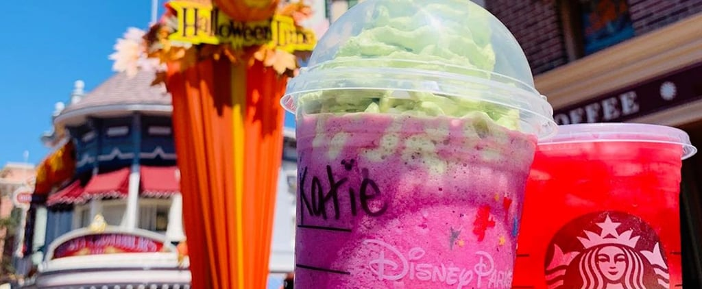 Disneyland's New Maleficent Frappuccino Looks Wickedly Tasty