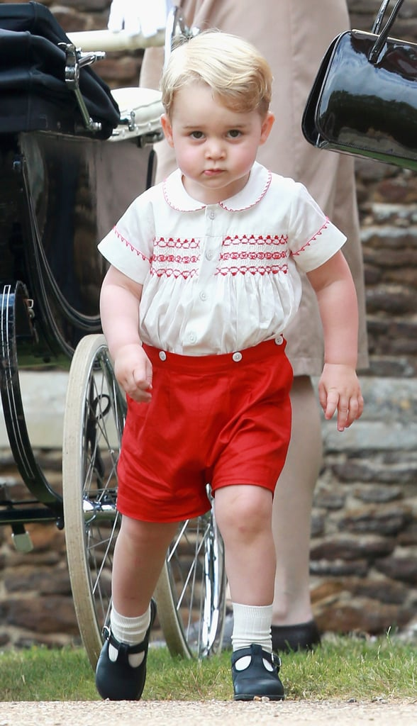 "Prince William on George's personality: ""He's a little monkey."" Prince Charles on how he's a handful: He told reporters that Princess Charlotte sleeps through the night and it's been much easier on Kate than it was with Prince George. William on his son's energy: He said Prince George ""never stops moving."""