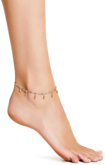 Chan Luu's Beaded Anklet ($39) is perfect for layering with other styles.