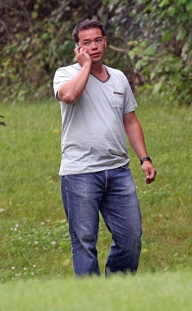 Jon Gosselin Smokes While He Chats