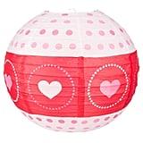 Valentine's Day Heart Paper Lantern