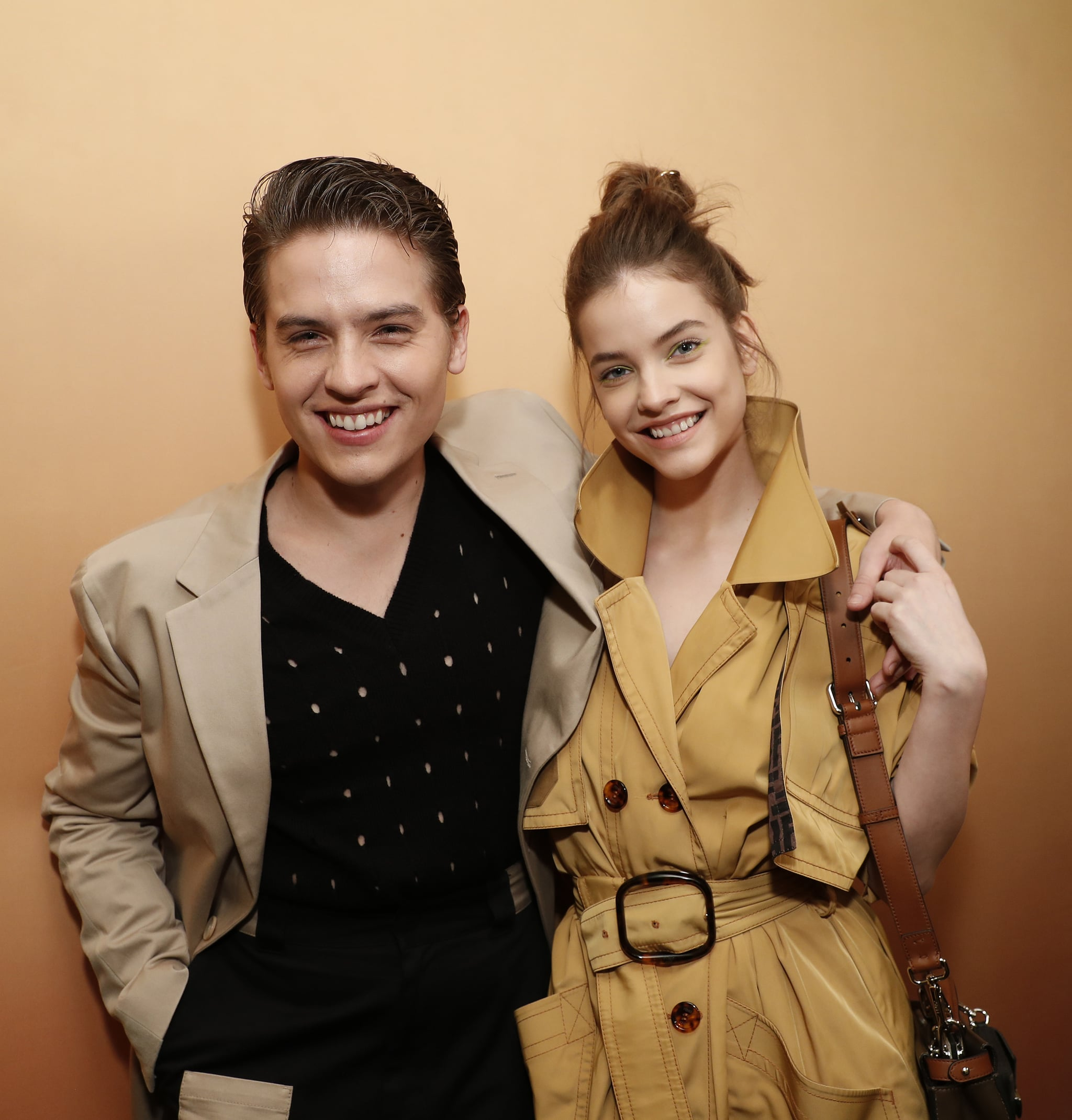 NEW YORK, NEW YORK - FEBRUARY 05: Dylan Sprouse and Barbara Palvin attend The Launch of Solar Dream hosted by Fendi on February 05, 2020 in New York City. (Photo by JP Yim/Getty Images for Fendi)
