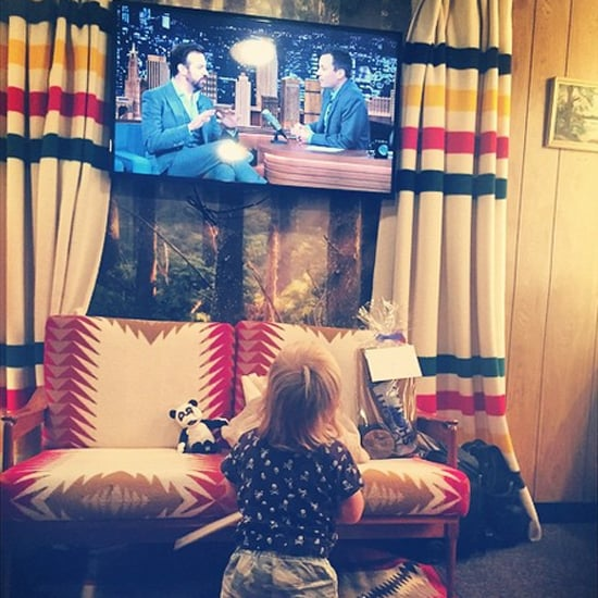 Olivia Wilde Posts Picture of Otis Watching Jason Sudeikis