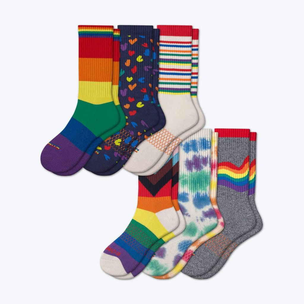 Bombas Pride Calf Sock 6-Pack