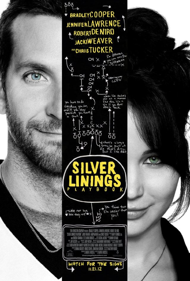 Best adapted screenplay: Silver Linings Playbook