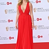 Jodie Comer at the 2017 BAFTA TV Awards
