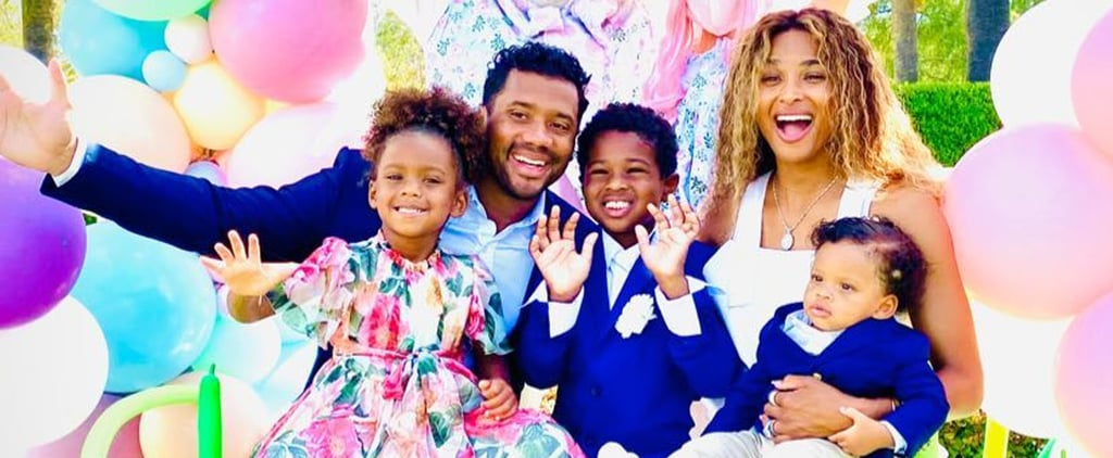 Ciara and Russell Wilson Celebrate Win's First Easter: Video
