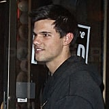 Pictures of Taylor Lautner Leaving a Vancouver Restaurant