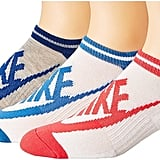 Nike Sportswear Striped No Show 3-Pair Socks Women's Crew Cut Socks