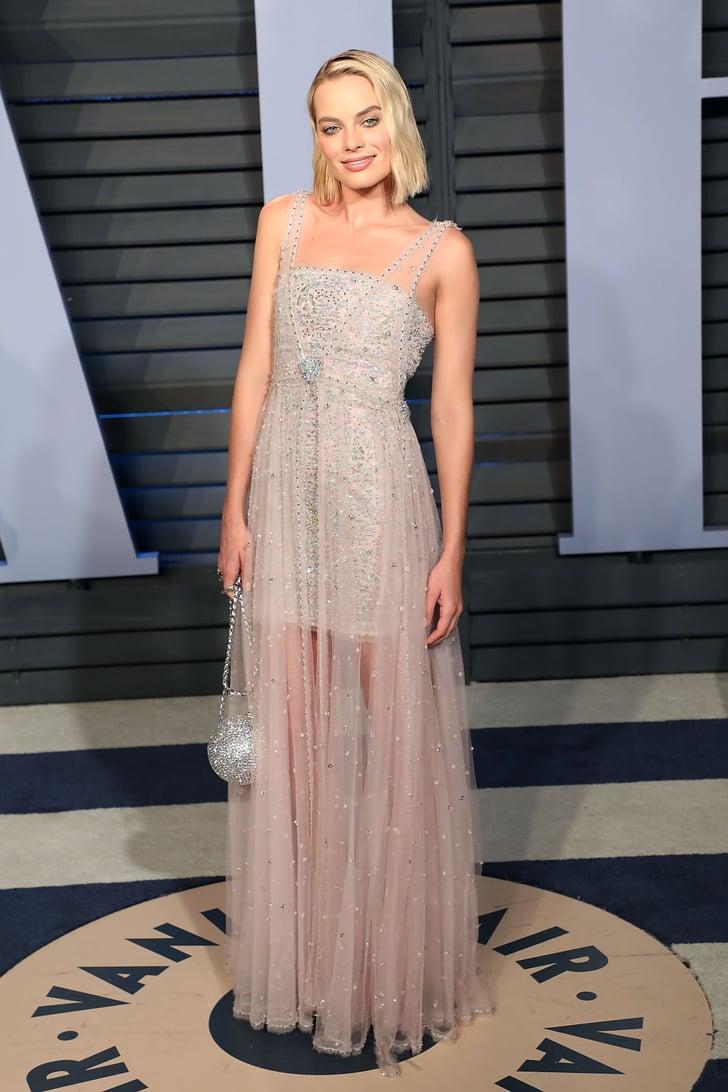 Vanity Fair Oscars Party Dresses 2018 Popsugar Fashion