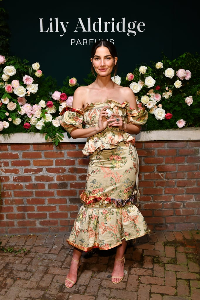 Lily Aldridge at the Lily Aldridge Parfums Launch During New York Fashion Week