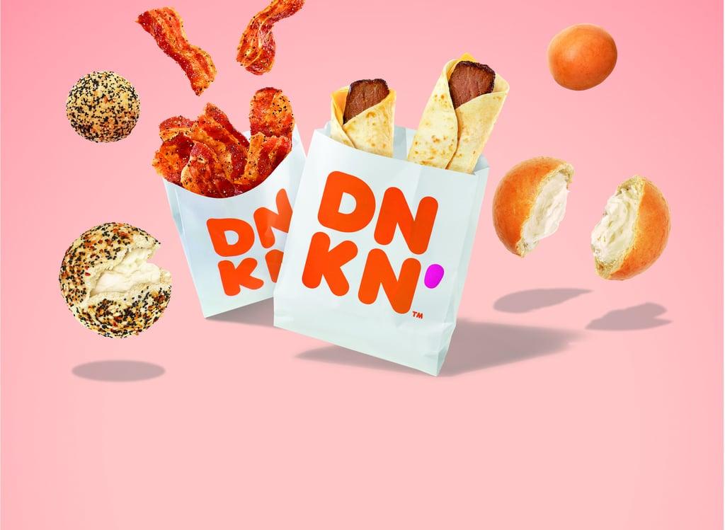 Dunkin' Donuts Fall 2020 Snackin' Selection