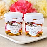 """Meant to Bee"" Mini Personalized Honey Jars"