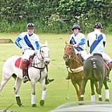 Princes William and Harry Team Up For a Charity Polo Match