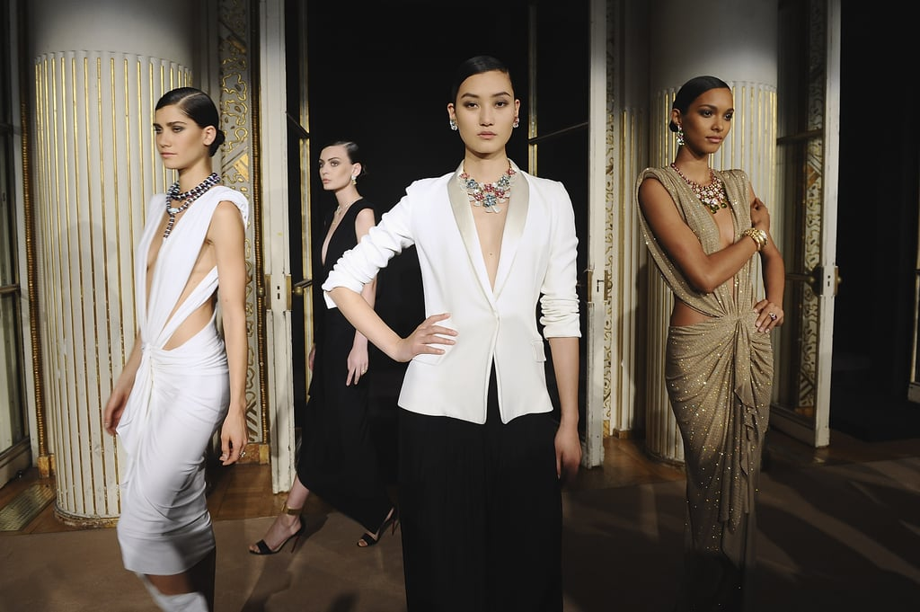 Models showcasing pieces from Bulgari's Diva fine jewelry collection.  Photo courtesy of Bulgari