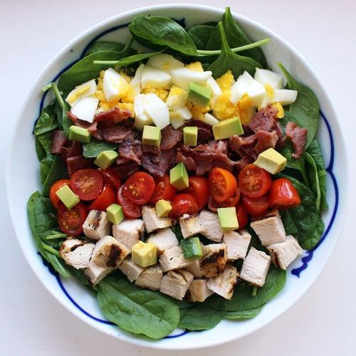 Healthier Cobb Salad
