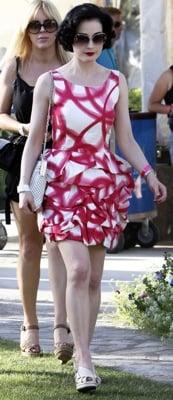 Celeb Style: Dita Von Teese