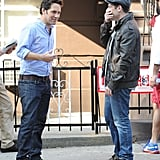Paul Rudd shot a movie in NYC.