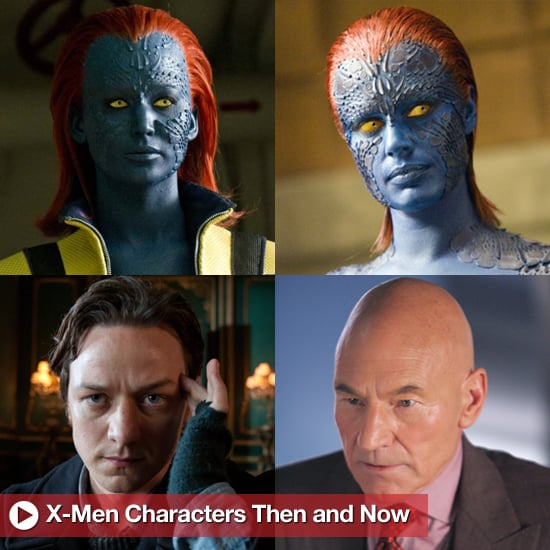 first x men x men first class character pictures from past and present 2011