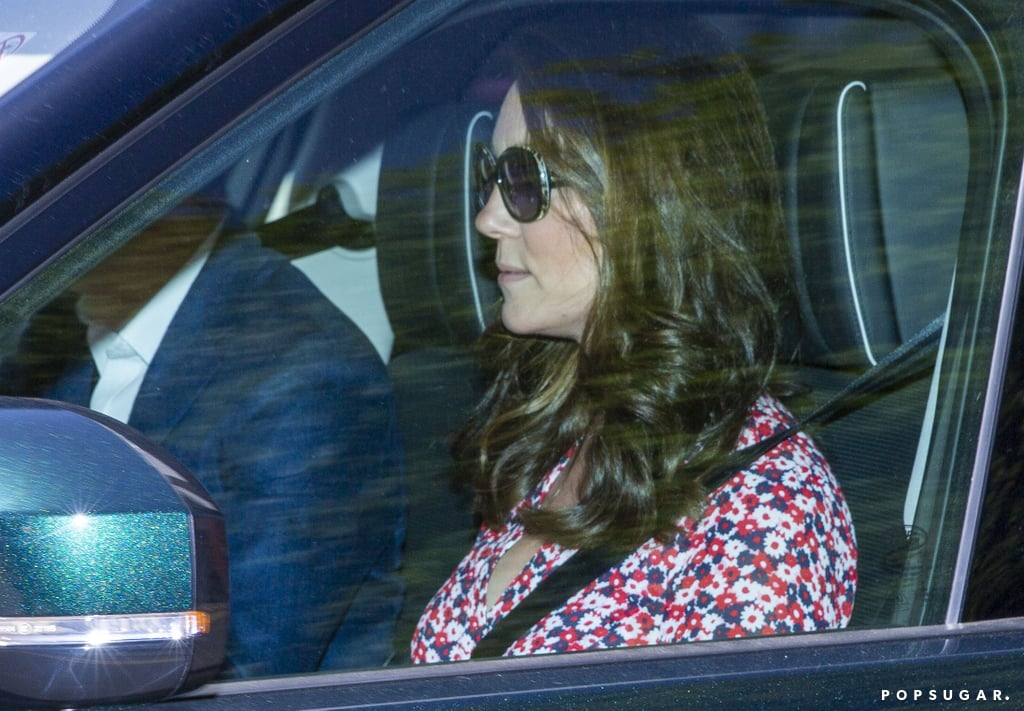 Kate Middleton Floral Dress at Wedding Rehearsal 2018