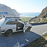 """In the words of Garfors, """"Who needs a flashy car when you can travel?"""" This was taken on the way to one of Norway's best surfing spots."""