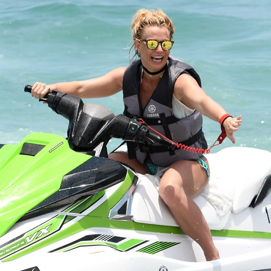 Britney Spears Jet Skiing in Miami Pictures June 2018