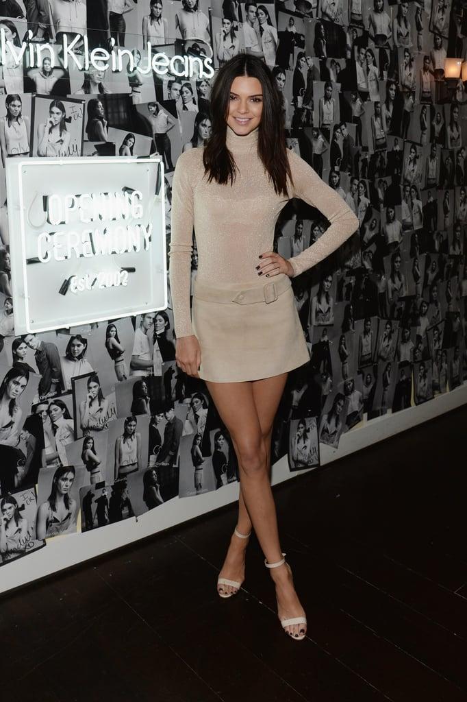 Last Night's Kardashian Dress Code: Leg Slits and Crop Tops Only