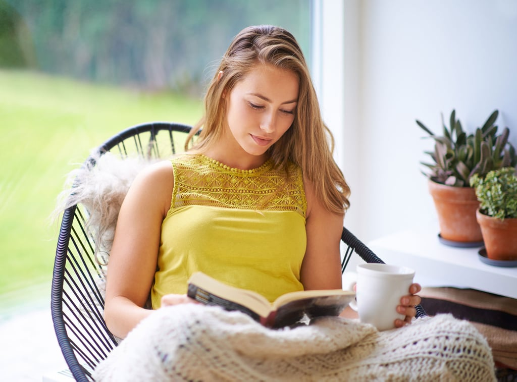Get Cozy With an Uplifting Book and a Mug