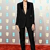 Irina Shayk at the 2019 BAFTA Awards