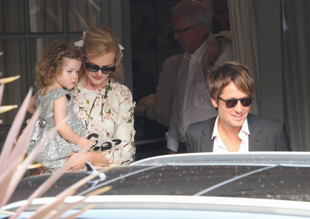 Nicole Kidman And Keith Urban With Their Kids In Australia