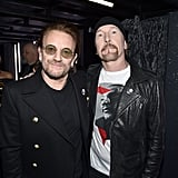 Pictured: Bono and The Edge