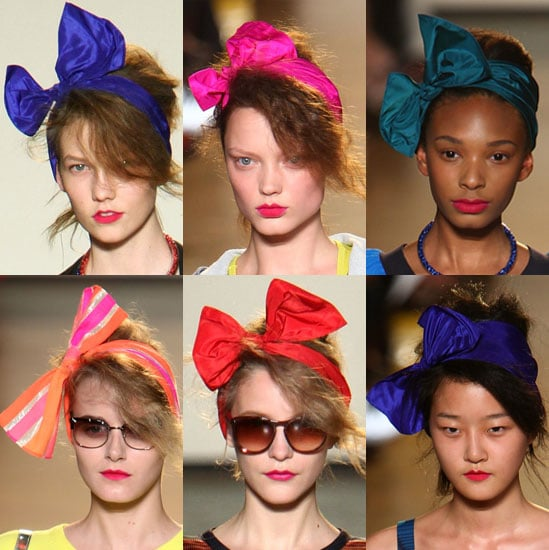 Pictures of Hair Bows at Marc by Marc Jacobs 2009-09-16 10:00:00