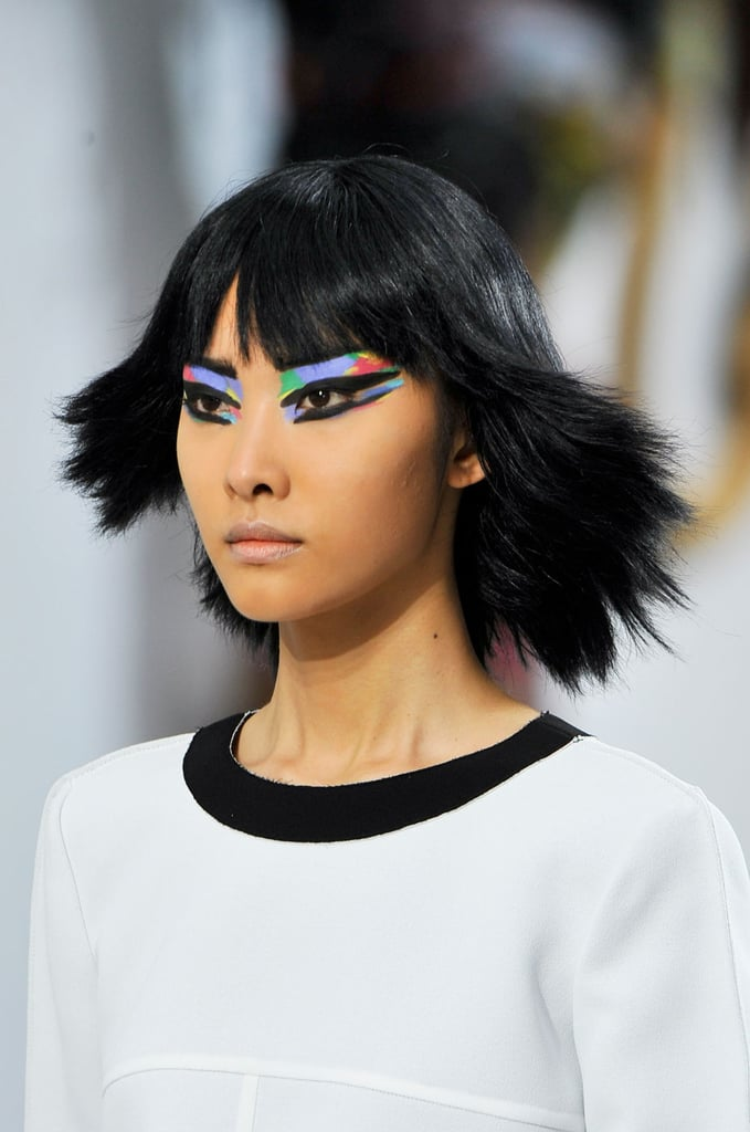 Chanel Makeup Brushes New Design: Chanel Makeup And Hair At 2014 Spring Paris Fashion Week
