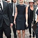 Quand Charlotte Arrive au Défilé Gucci, Tout le Monde S'écarte Pour la Laisser Passer