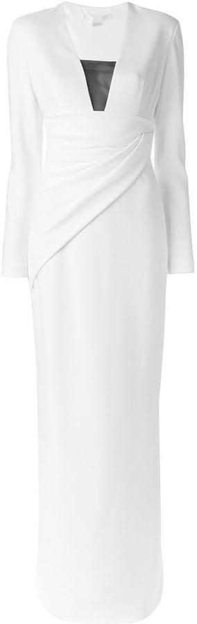 Alexander Wang Long Wrapped Dress ($999)