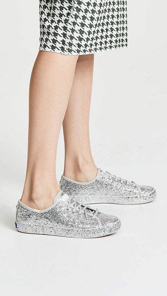 Keds x Kate Spade Glitter Sneakers on