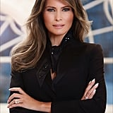 Melania's Official White House Portrait