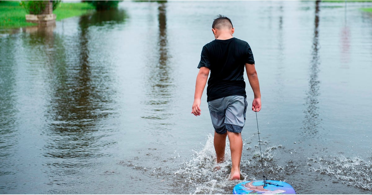 PopsugarMomsPersonal EssayWhat Hurricane Harvey Was Like With KidsMy Kids and I Tried to Escape Hurricane Harvey — It Was ImpossibleSeptember 29, 2017 by Sara Ahmed495 SharesChat with us on Facebook Messenger. Learn what's trending across POPSUGAR.Image Source: Getty / Brendan SmialowskiFrom the moment I heard about Hurricane Harvey, I began mulling over how to prepare the kids. I have lived in Houston, TX, for over 20 years, so this was not my first rodeo, but it was my first time as a parent having to face an inevitable natural disaster heading right toward my hometown. The American Academy of Child and Adolescent Psychiatry (AACAP) recommends creating an open environment during natural disasters where children feel comfortable enough to ask questions and parents have the ability to provide reassurance with honesty and patience. But it seems like a Herculean effort to maintain honesty or even the façade of reassurance in front of your children when a minimum of nine trillion gallons of water is being unl - 웹