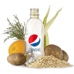 Pepsi Unveils 100 Percent Plant-Based Bottle