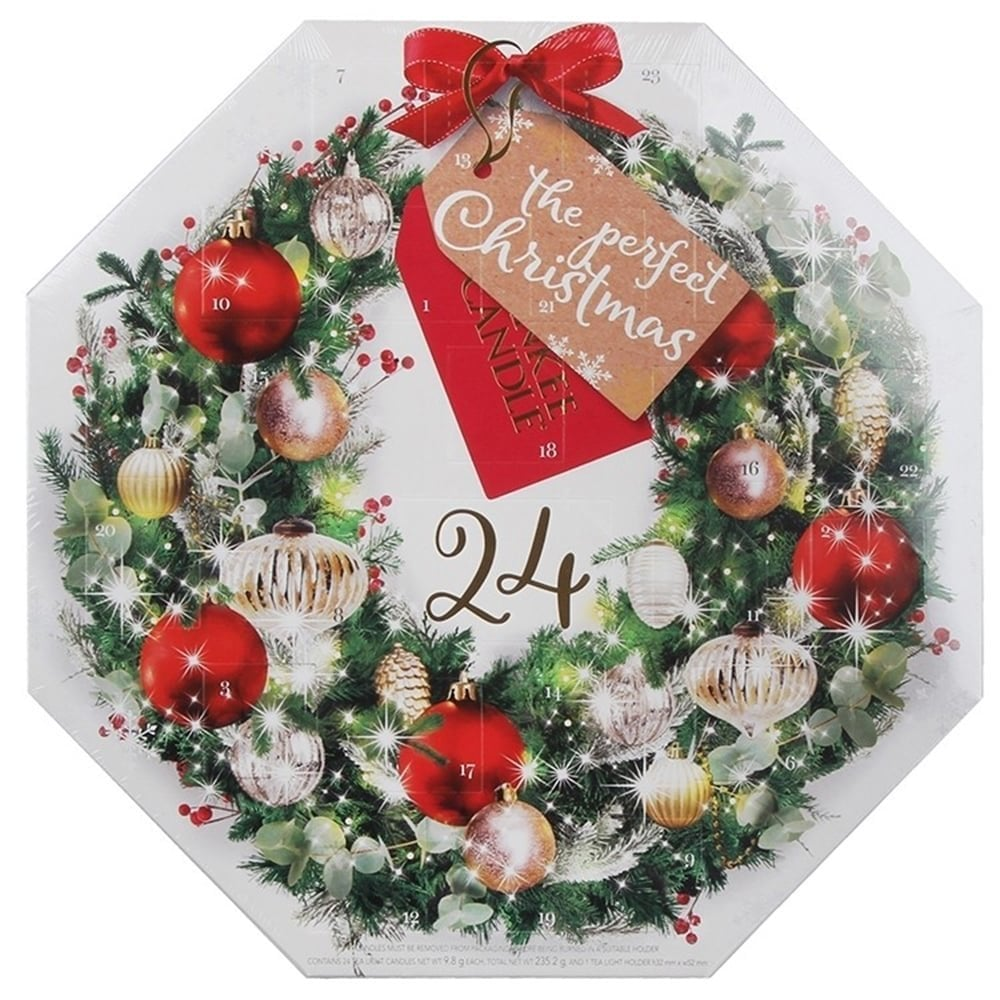 Yankee Candle Wreath Advent Calendar Yankee Candle