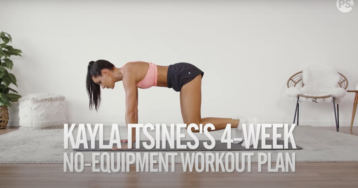 Crush Your Summer Fitness Goals With Kayla Itsines's 4-Week No-Equipment Workout Plan